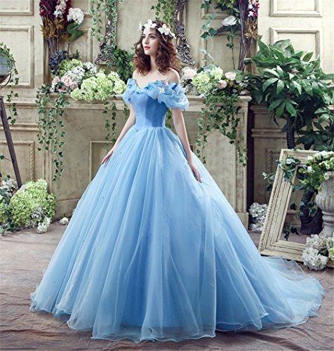 LUCKY-U Bridemaid Kleid, Hochzeitskleid Rollenspiel Cosplay Kleider Elegante Prinzessin Kleider Frau...