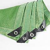 Sonnensegel Duo 85% Rechteck Sun Shade Segel UV Top Outdoor Baldachin Terrasse Rasen (Farbe : Green, größe : 3x6m)