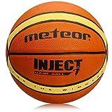 meteor® INJECT: Kinder & Jugend Basketball Größe #6, Braun und Beige ideal auf die Kinderhände von 8 - 14 Jährigen abgestimmt, idealer Basketball für Ausbildung