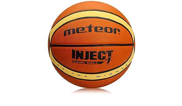 Braun und Beige 14 Paneele idealer Basketball f/ür Ausbildung//weicher Basket Ball mit griffiger Oberfl/äche, meteor/® Inject: Basketball Gr/ö/ße #7