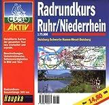Geführte Radtouren: Radrundkurs Ruhr, Niederrhein 1 : 75 000.