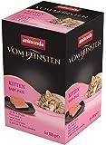 animonda Vom Feinsten Kitten, Nassfutter für wachsende Katzen im ersten Lebensjahr, verschiedene Sorten, 6 x 100 g