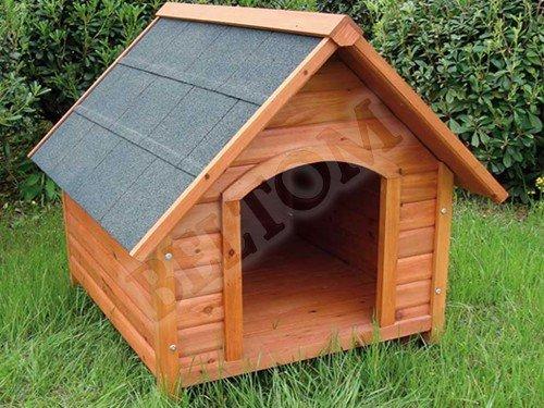Cuccia In Legno Per Cane Cani Di Taglia Medio Grande Tendina