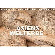 Asiens Welterbe (Tischkalender 2018 DIN A5 quer): 13 faszinierende Farbfotos zeigen das asiatischen Unesco Welterbe (Monatskalender, 14 Seiten ) (CALVENDO Orte)