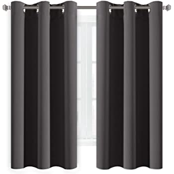 HVersailtex Eyelet Blackout Curtains Window Treatment Bedroom Solid Thermal Supersoft With Two FREE Tiebacks