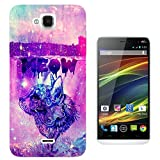 002697 - Cat Aztec Kitten Meow Colourful Galaxy Design Wiko
