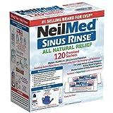 NeilMed Sinus Rinse 120 Premixed Sachets Bild