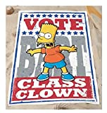 The Simpsons - Badetuch Strandtuch - Bart Class Clown - 150 x 75 cm