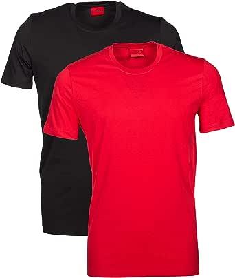 HUGO Men's T-Shirt Rn Twin Pack (Pack of 2)