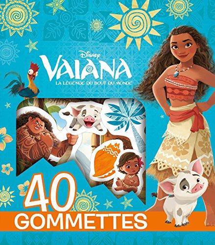 VAIANA - Pochette de 40 gommettes