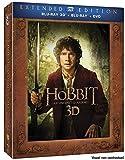 Le Hobbit : Un voyage inattendu - Version longue - Edition 2 Blu-ray 3D + 3 Blu-ray + 2 DVD -
