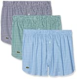 Lacoste Underwear Herren Boxershorts Authentics Boxer (3PK),3er Pack, Mehrfarbig (Sortiert 2 908),X-Large