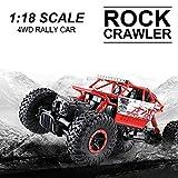 RC Rock Crawler, Macchinina telecomandata Scala RC Auto 1:18 2.4Ghz 4WD Alta velocità vehiculo todoterreno