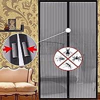 Mosquitera para Puerta Anti Mosquito Insecto Moscas 100 * 210cm Puerta de Cierre Automático Pantalla Cortinas de Cocina