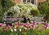 Zauberhafte Landgärten 2020, Wandkalender im Querformat (45x33 cm) - Gartenkalender mit Monatskalendarium - Ackermann Kunstverlag