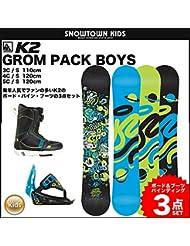 K21150061.1.s.050Set de snowboard para niño, multicolor, talla L