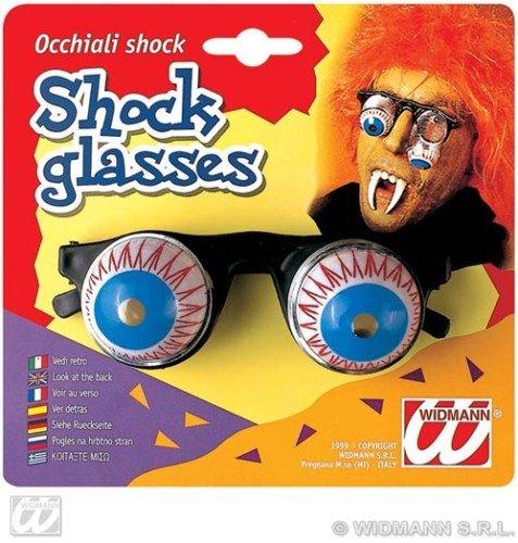 Widmann - occhiali shock scherzi di carnevale, 4854o