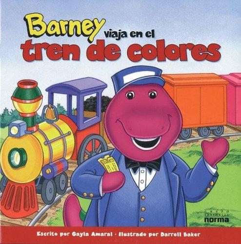Barney Viaja En El Tren de Colores por Stephen White
