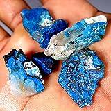 98.50CTS100% naturale all' ingrosso lotto blu Azzurrite Facet slice Rough Specimen