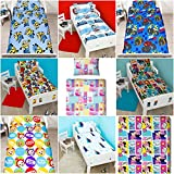 Children's Cot Bed/Junior/Toddler Bed Duvet Cover and Pillowcase Sets - 120cm x 150cm