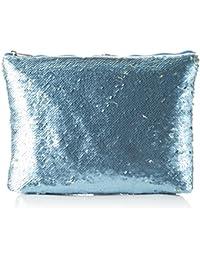XYXYX Damen Sequins Bag Clutch, 2x23x30 cm