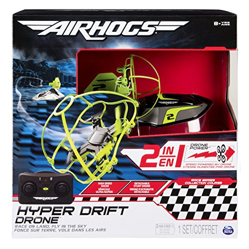 Air Hogs 6040078 - Hyper Drift Drone, Colori Assortiti