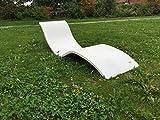 Lounge-Liege Sonnenliege aus Beton