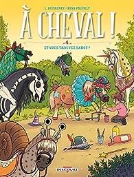 Book's Cover ofÀ cheval ! tome 4