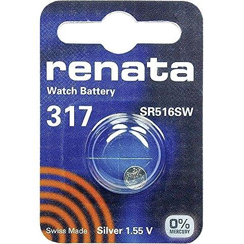 317 (SR516SW) Batterie de Pièces de Monnaie / Oxyde D'argent
