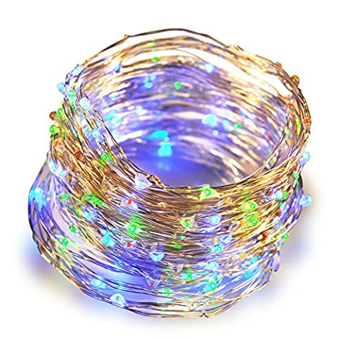 Lastest ANTSIR Led String Lights, Ultra Thin Flexible Copper Wire