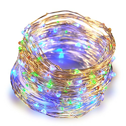 Lastest ANTSIR Led String Lights, Ultra Thin Flexible Copper Wire 66ft 120 Leds,Indoor/Outdoor Commercial Decor for Party Holiday Wedding. - Geld-baum Die Partei Für