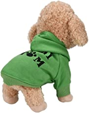 Sunward Baby Boys' Puppy Pet Dog Clothes Sweatshirts,Warm T-Shirt, Hoodies For Small Dogs Cat