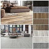 HOME DELUXE Vinylboden – 1m² – selbstklebend – verschiedene Farben – V3 Eiche Rustikal