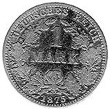 Münzen 1 Mark Deutsches Kaiserreich, 1875 A (Jäger: 9) Sehr Schön