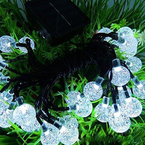 Ivso Led Solar Lichterkette Aussen Deko Christmas De