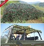150D Oxford Stoff Woodland Camo Net Camouflage Net Tarnnetz für Jagd Camping