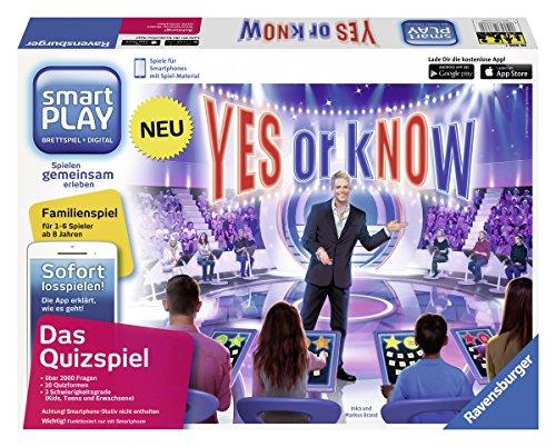 Preisvergleich Produktbild Ravensburger 26806 - Smartplay - Yes or Know, ohne Smartphone-Stativ