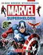 MARVEL Superhelden: Das große Stickerbuch