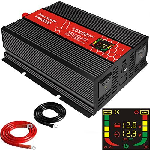 convertisseur 12v 220v 1000w 3000w 2000w dc ac dc ac transformateur power inverter