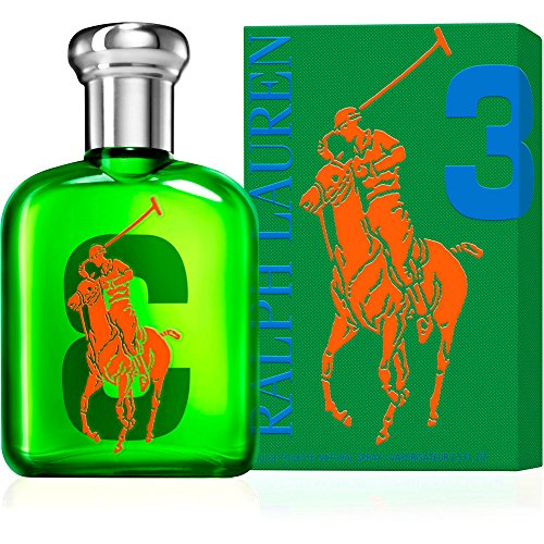 Ralph Lauren Big Pony Collection Nr. 3 homme/men, Eau de Toilette, Vaporisateur/Spray 75 ml, 1er Pack (1 x 75 ml) (Big Pony 3)