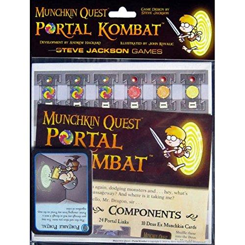 Asmodee - Munchkin Quest, Portal Kombat (Edge Entertainment EDGMQ03)