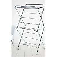 SYNERGY - Super Heavy Duty - Extra Large 3 Tier Stainless Steel Foldable Cloth Dryer / Clothes Drying Stand (SY-CS8)
