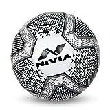 #2: Nivia Black & White Football - Size 5
