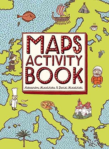 [(Maps Activity Book)] [By (author) Aleksandra Mizielinska ] published on (March, 2015)