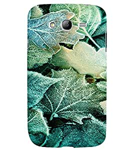 PRINTVISA Abstract Leaves pattern Case Cover for Samsung Galaxy Grand Neo Plus