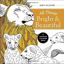 ALL THINGS BRIGHT & BEAUTIFUL (Creation Colouring Books)