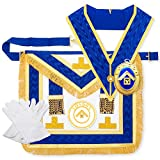 massonico in pelle ovina Provinciale London Grand Rank abito completo Lgr Regalia confezione