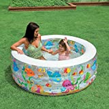 #10: Intex Inflatable Kids Swimming Pool for kids in Round shape
