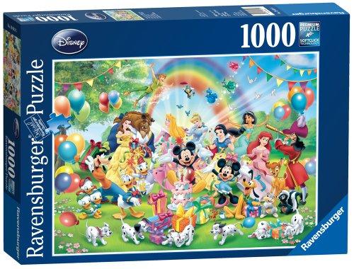 Ravensburger 19019 - Puzzle con diseño del cumpleaños de Mickey Mouse (1000 Piezas)