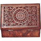 [Sponsored]Nexplora Industries Handmade Wooden Jewellery Box For Women Jewel Organizer (15*10 Cm)